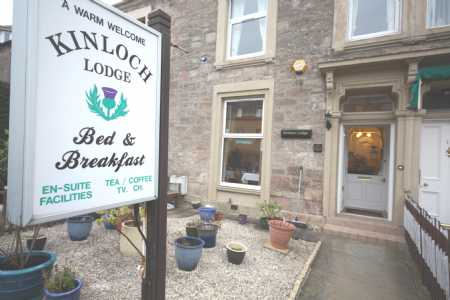 Kinloch Lodge Guest House, 13 Ardconnel Street, Inverness